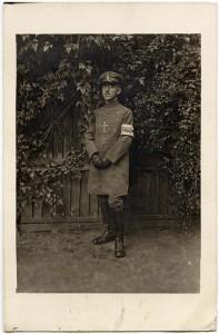 Professor Wilhelm Goeters als Militärgeistlicher AEKR Düsseldorf 7NL 019 (Nachlass Wilhelm Goeters), Nr. 36