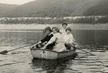 Bezirkshelferausflug zur Rurtalsperrel 1955