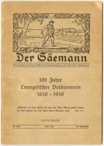 Festschrift des Evangelischen Brüdervereins
