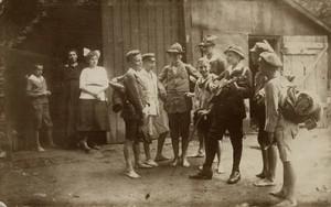 B.K.-Wanderfahrten durch die Haardt (Pfälzerwald) Musizierende Gruppe, 20.08.1920