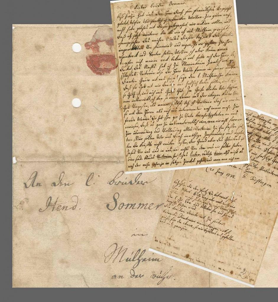 Brief Gerhard Tersteegen
