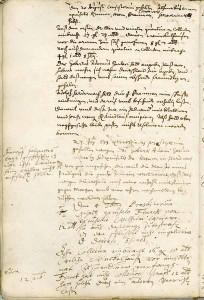 Protokollauszug vom 20. August 1633 aus Bestand: AEKR Düsseldorf, 4 KG 005 (Ev. Kirchengemeinde Düsseldorf), 40