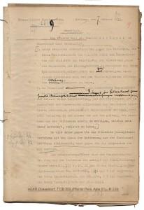 Joachim Beckmann - Amtsenthebung 1934, aus Bestand: AEKR Düsseldorf (Pers. Akte 51), H 239
