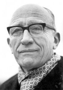 Professor Joachim Beckmann, Präses der Ev. Kirche im Rheinland Foto: vermutlich Hans Lachmann, Fotosammlung: 10.B/37