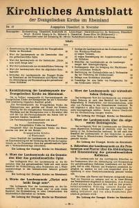 Kirchliches Amtsblatt der Ev. Kirche im Rheinland 1948