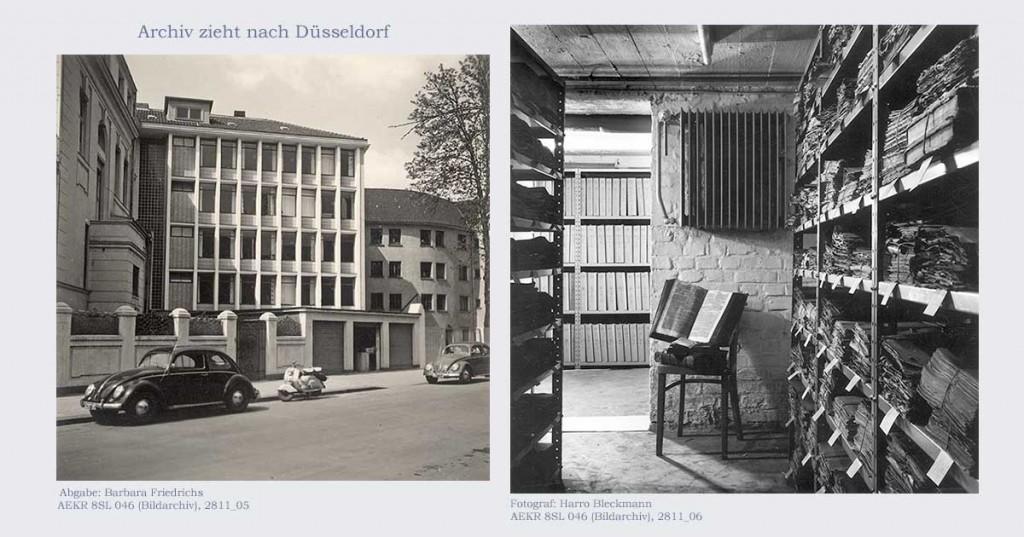 Landeskirchenamt und Archiv in Düsseldorf