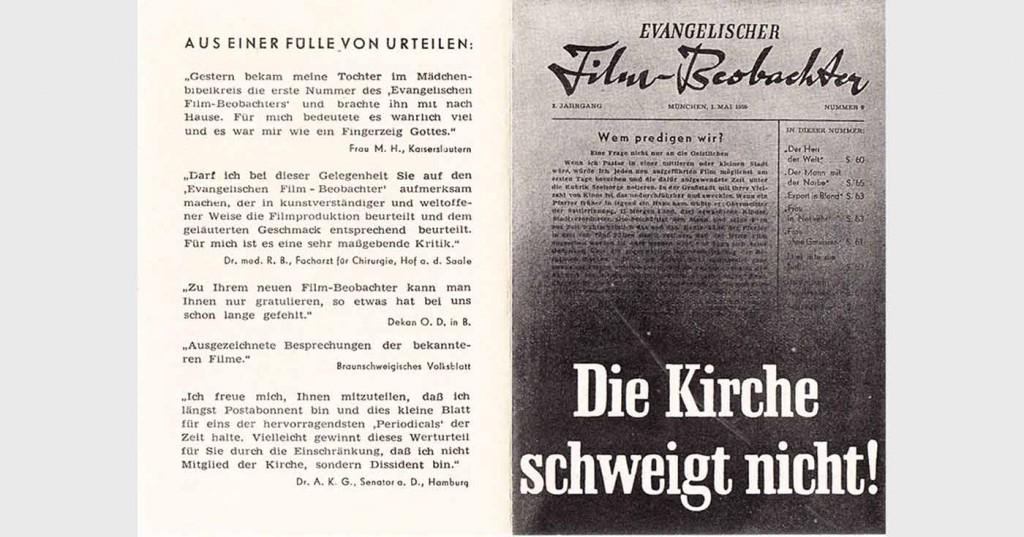 Werbeblatt aus Bestand: AEKR Boppard; Vorderseite; 165 x 118 mm