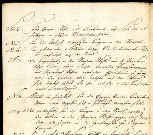 Meisenheim, Kirchenstuhlordnung 1769, aus Bestand: AEKR Boppard 4KG 003 (Kirchengemeinde Meisenheim), 127
