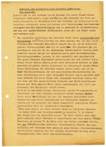 """Gutachten """"Bedenken und Schwierigkeiten betreffs Aufteilung der Gemeinde von Pfr. Theodor Kogge, ca. 1947, 4KG 005, Nr.373"""