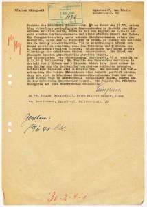 Kriegsschadensmeldung von Pfarrer Klingbeil, 10.11.1944, 4KG 005, Nr.413