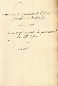 Hugenotten im Rheinland 1685