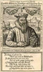 Crustarius, Johannes (1552-1617) Pfarrer Kgm. Bacharach, Inspektor ( Superintendent ); AEKR 8SL 046 (Bildarchiv) 80034_2
