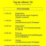 Ein attraktives Programm zum Tag der Archive am 5. März in der Archivstelle Boppard