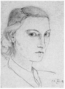 Ein Selbstportrait von Jutta Müller-Zantop
