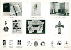 Titelblatt des Werbeflyers von Grafiker Rudi Wagner