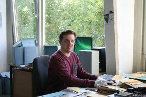 Praktikant Luke Messinger, Foto: Archiv des JHD