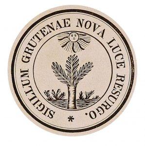 Das alte Siegel der Evangelisch-Reformierten Kirchengemeinde Gruiten