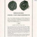 Fünfzig Jahre Siegelordnung der Evangelischen Kirche im Rheinland