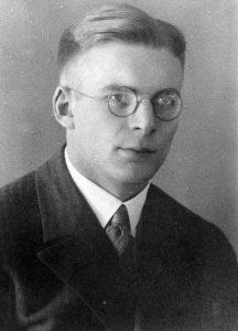 Pfarrer Bernhard Heiermann, ca.1931 ; Personalakte 51 H 293, aus Bestand: AEKR Düsseldorf 8SL046 (Bildarchiv), 012H_0098;