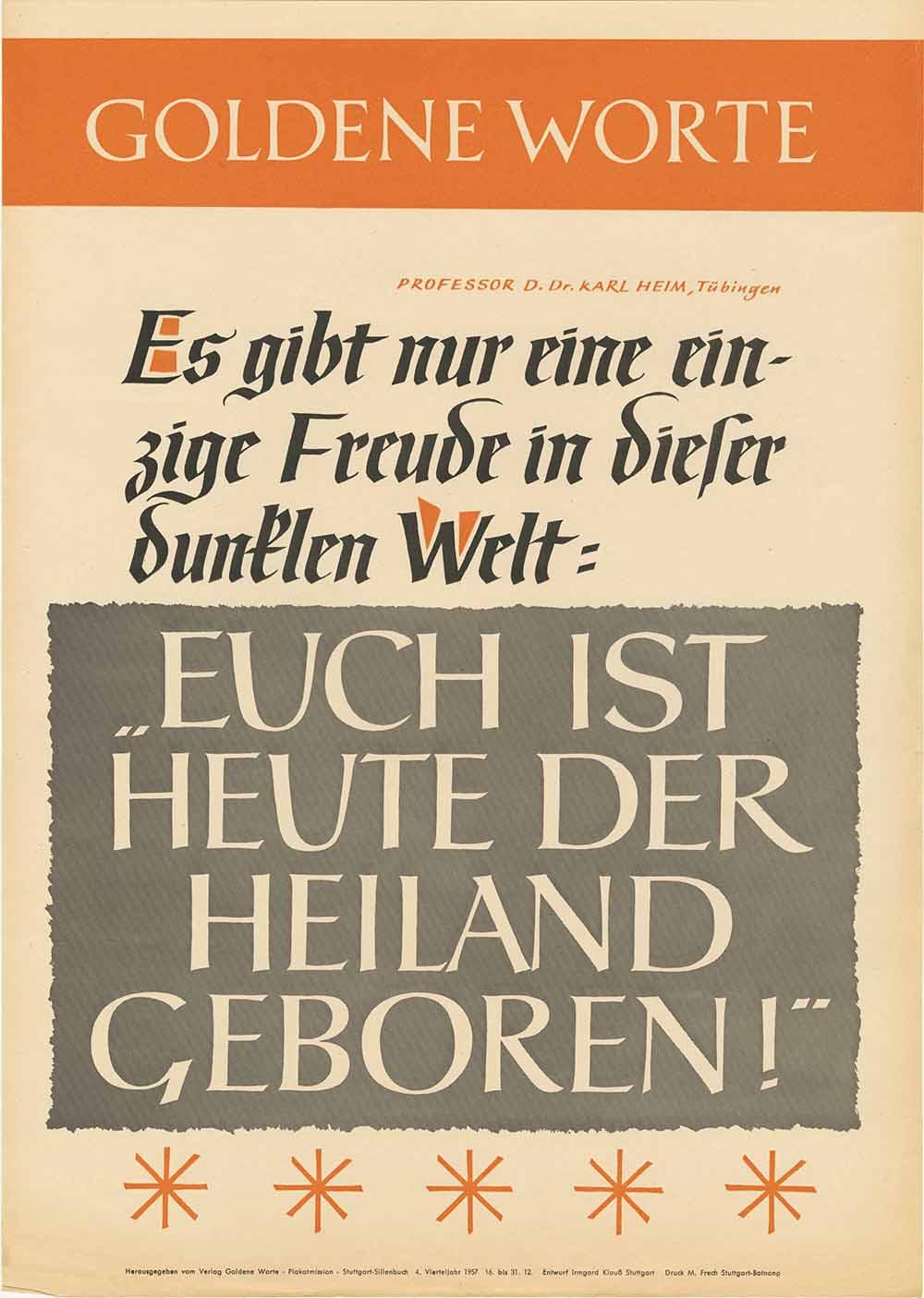 Goldene Worte zu Weihnachten | blog.archiv.ekir.de