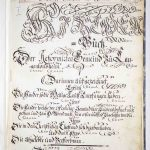 Frontispiz im Kirchenbuch Langenlonsheim