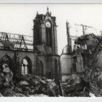 Zerstörung von Kirchengebäuden in Düsseldorf in den Bombennächten am 12.6.1943 und 2.11.1944