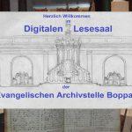 Archivstelle Boppard eröffnet Digitalen Lesesaal