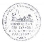 Das Siegel der Evangelischen Kirchengemeinde Pfalzdorf