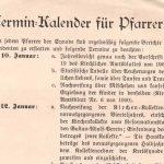 Kirchliche Gemeindemanager um 1900