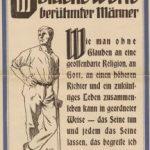 Plakatmission seit mehr als 100 Jahren: Die GOLDENEN WORTE
