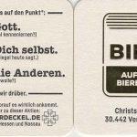 Die Bibel auf einem Bierdeckel? Evangelische Kirche in Hessen und Nassau