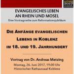 Evangelisches Leben in der mittelrheinischen Diaspora