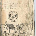 Rätselhafte Handzeichnungen in einem Büchlein
