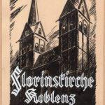 Aus dem Nachlass des Koblenzer Kirchenmalers Fritz Schönhagen