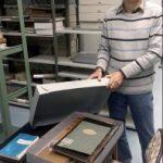 Gemeindekirchenbücher der Archivstelle Boppard komplett in Kartons verpackt
