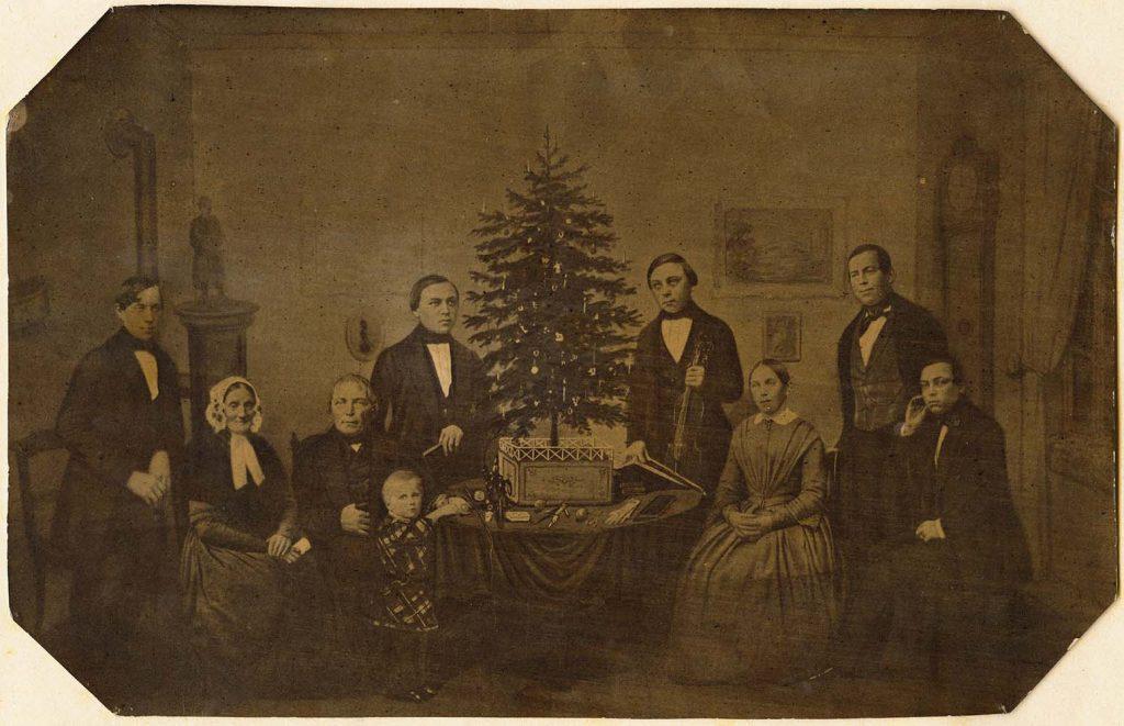 Pfarrerfamilie Garschagen 1852