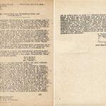 Beschaffung von Abendmahlsoblaten und Abendmahlswein im Kriegsjahr 1942