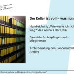 Schriftgutlehrgang An Sieg und Rhein in Wahlscheid
