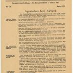 Diakonisches Hilfswerk: Jugendschutz beim Karneval der 1950er