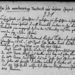 """""""Eine sehr merckwürdige Nachricht aus unserer Gegend"""" – Gnadenhochzeit Anno 1766"""