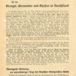 Findbuch 8SL 030 zum Kirchenkampf online!