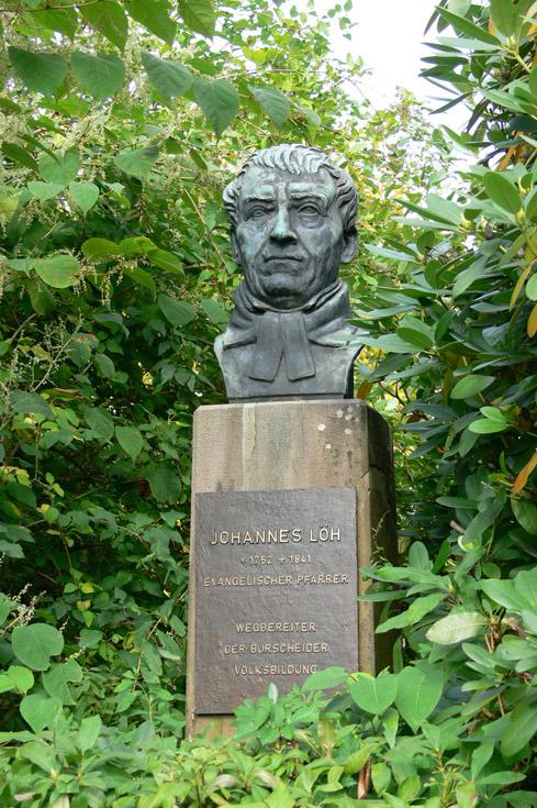 Bronzestatue Johannes Löh, Quelle: wikipedia, Fotograf: Fahrenberg 1369