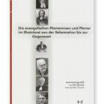 Handbuch der Pfarrerinnen und Pfarrer im Rheinland liegt vollständig vor