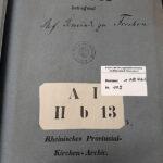 """Der große Unbekannte: Der Archivbestand """"Provinzialkirchenarchiv"""" enthält zahlreiche Quellen zur lokalen Kirchengeschichte"""