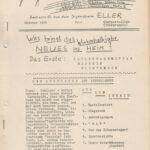 """Die Zeitschrift """"Adlerauge"""" der evangelischen Jugend Düsseldorf-Eller und Dr. Sommer (""""Bravo"""")"""